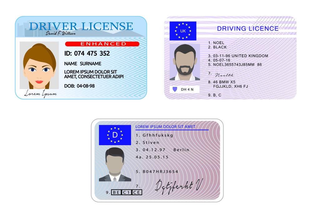 examples of identification